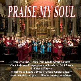 Praise my soul CD sleeve cover